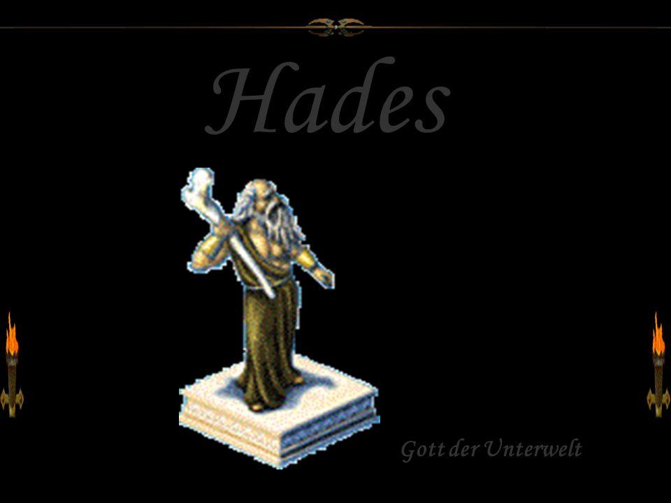 Hades Gott der Unterwelt