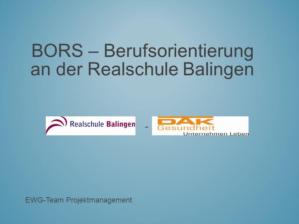 BORS – Berufsorientierung an der Realschule Balingen