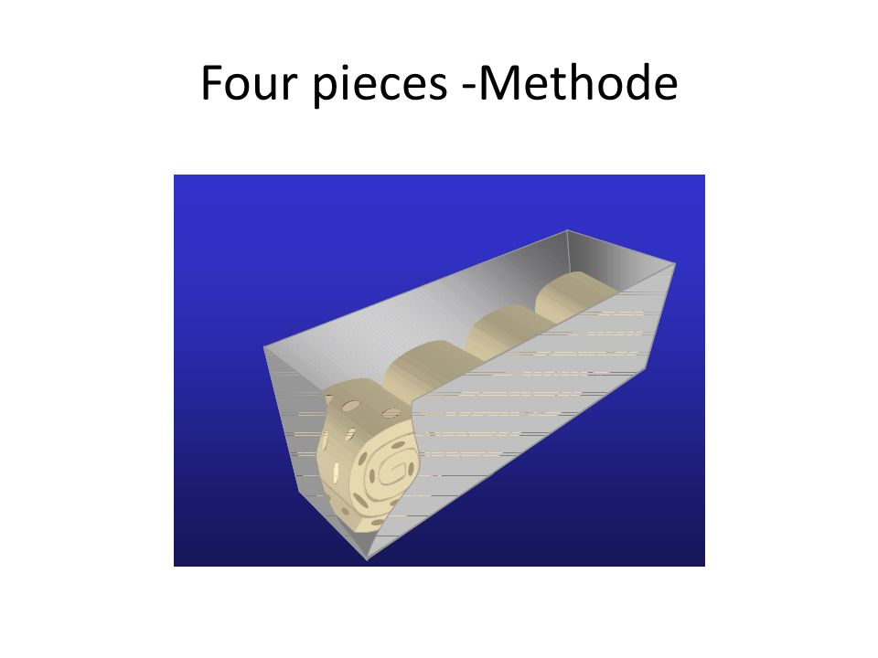 Four pieces -Methode