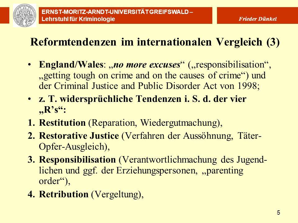 Reformtendenzen im internationalen Vergleich (3)
