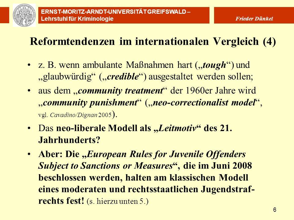 Reformtendenzen im internationalen Vergleich (4)