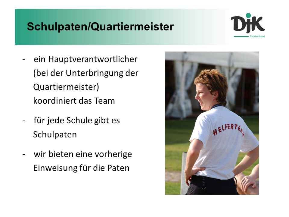 Schulpaten/Quartiermeister