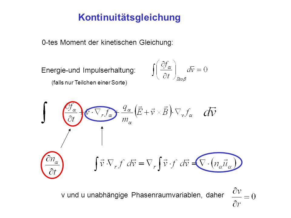 Kontinuitätsgleichung