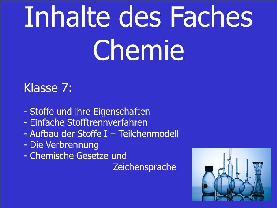 Präsentation über chemische Verbindungen der Klasse 8