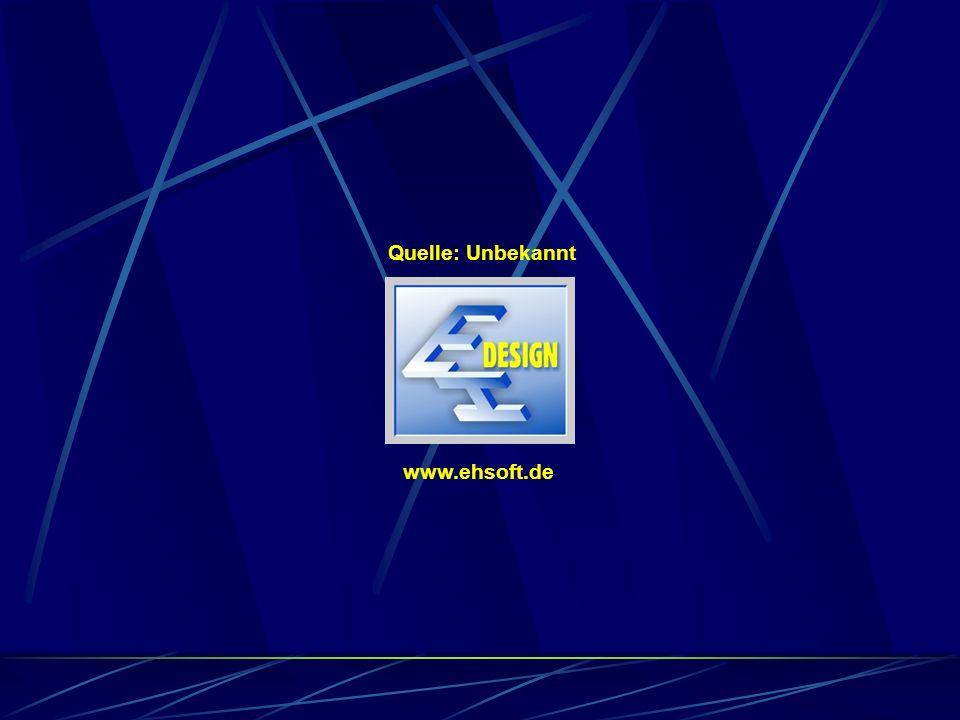 Quelle: Unbekannt www.ehsoft.de