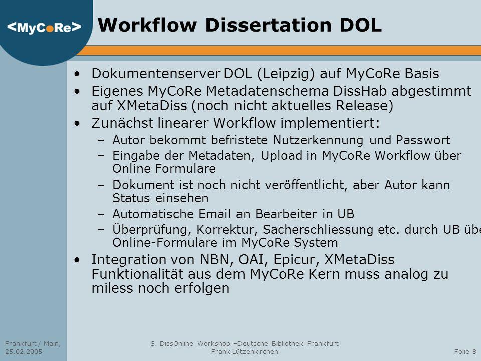 Workflow Dissertation DOL