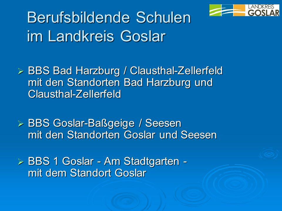 Berufsbildende Schulen im Landkreis Goslar