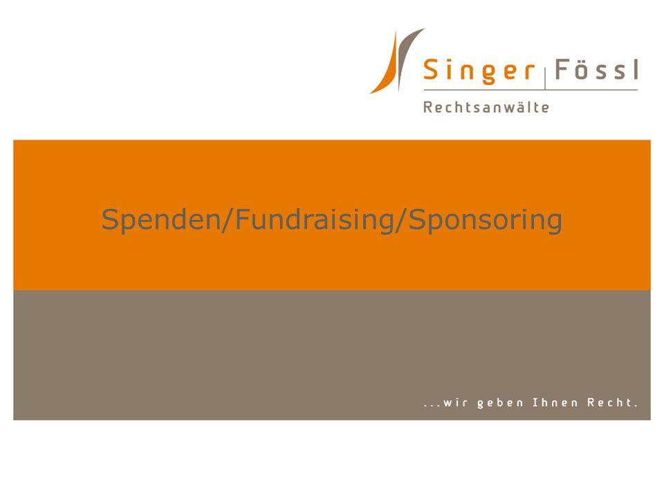 Spenden/Fundraising/Sponsoring