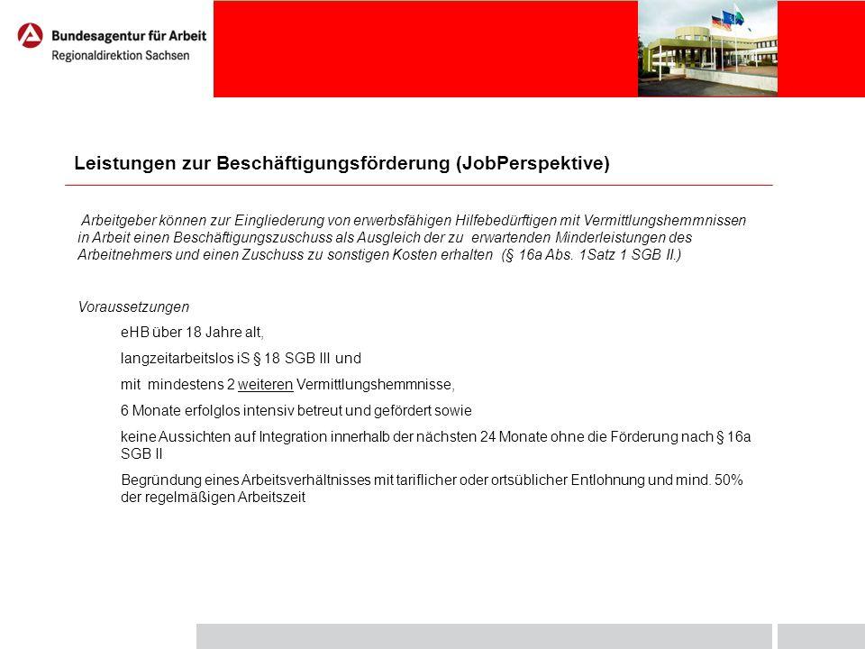 Förderumfang Zuschuss zum Arbeitsentgelt - maximal 75% des tariflichen oder ortsüblichen Arbeitsentgeltes +