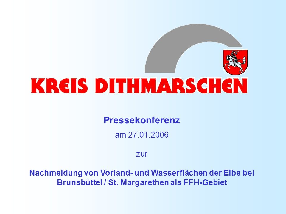 Pressekonferenz am 27.01.2006 zur