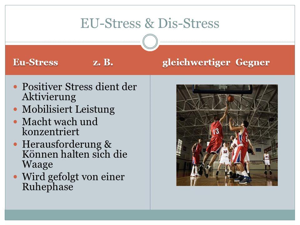 EU-Stress & Dis-Stress