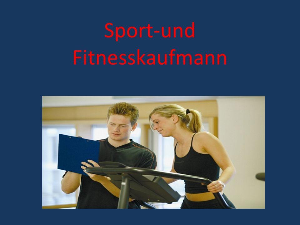 Sport-und Fitnesskaufmann