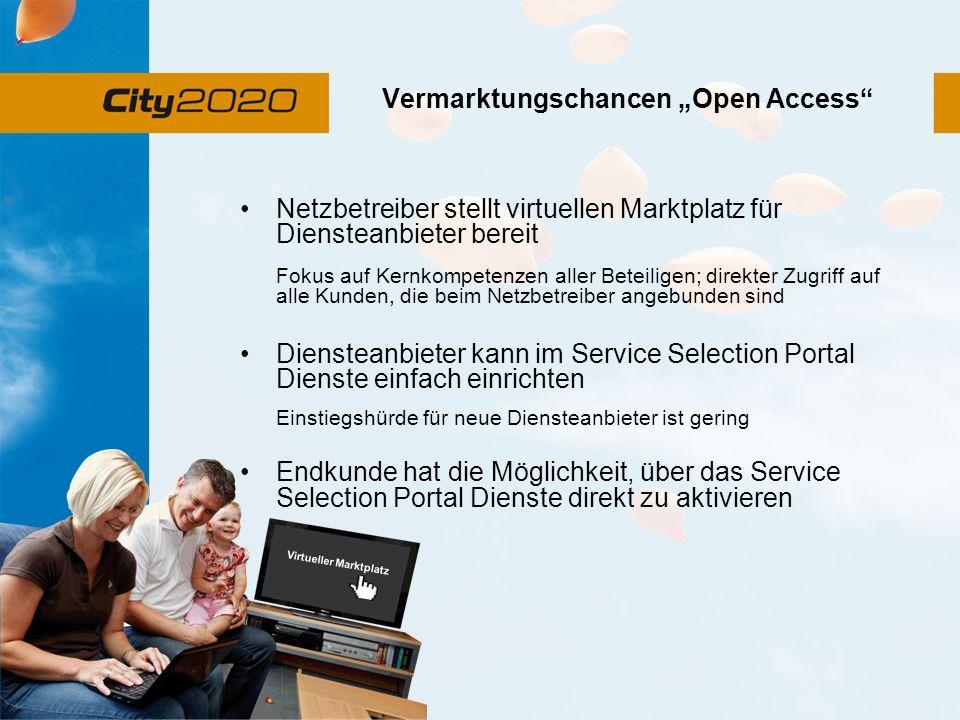 """Vermarktungschancen """"Open Access"""