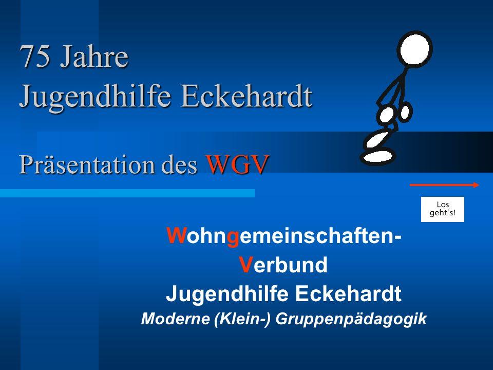 75 Jahre Jugendhilfe Eckehardt Präsentation des WGV