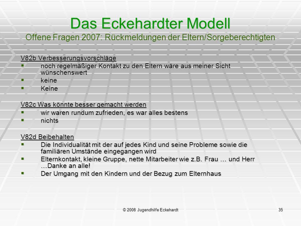 © 2008 Jugendhilfe Eckehardt