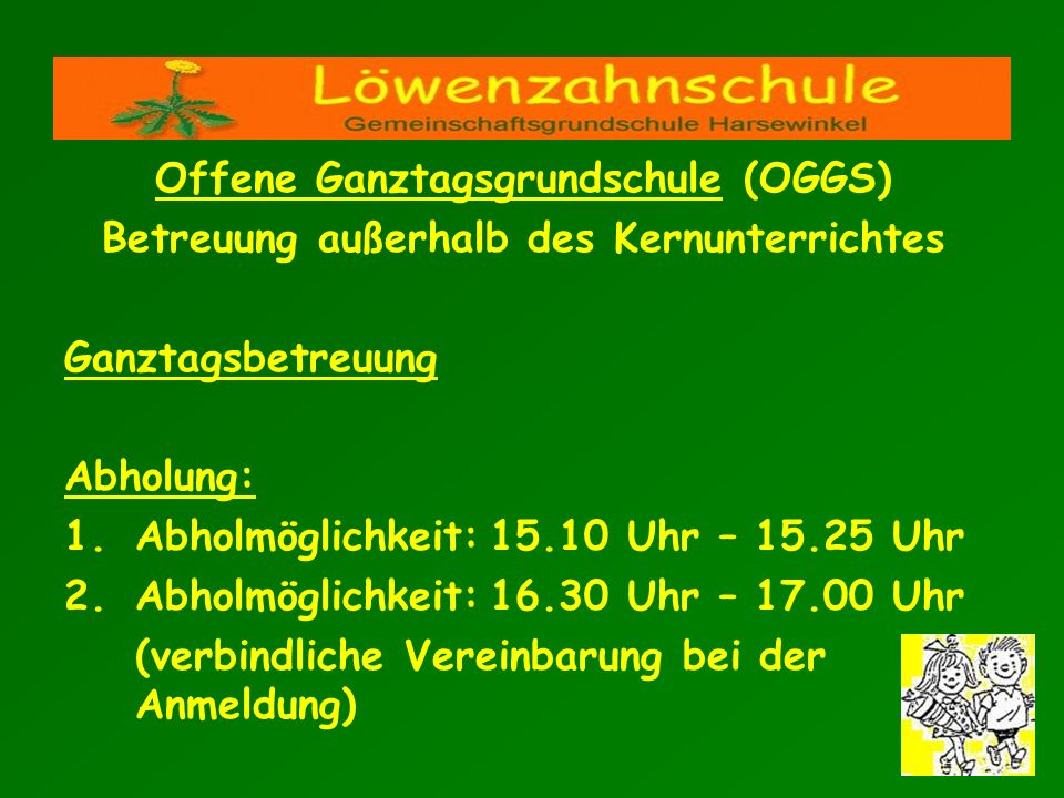 Offene Ganztagsgrundschule (OGGS)