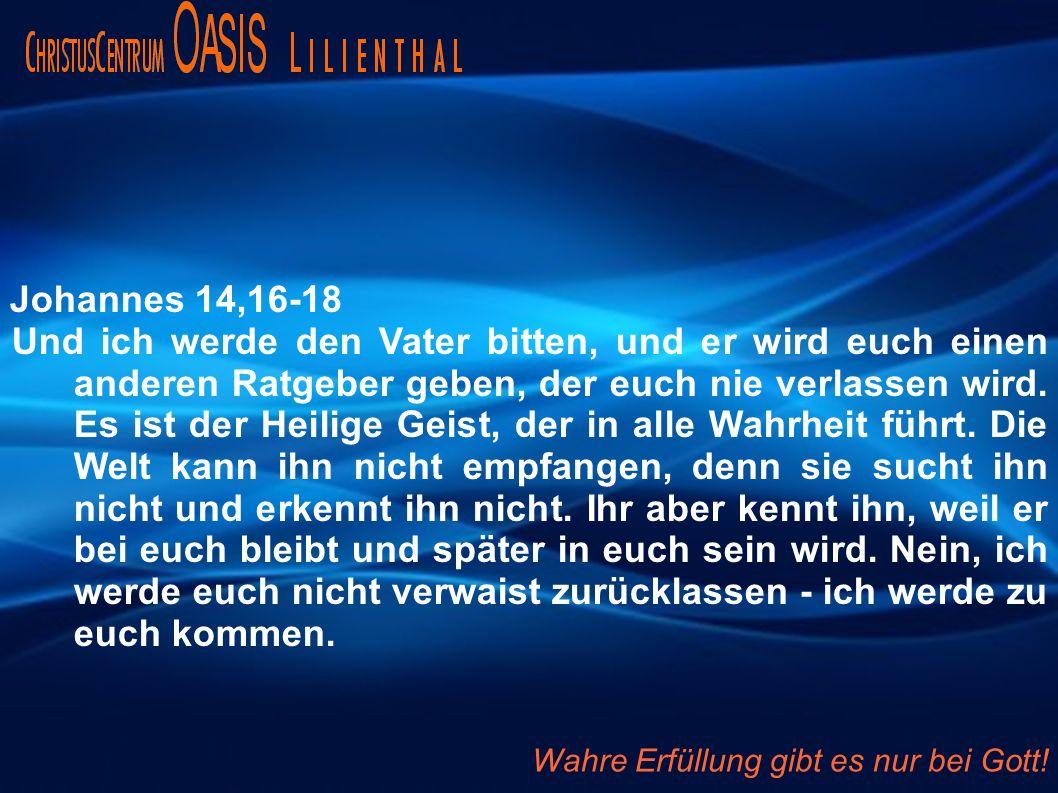 Johannes 14,16-18