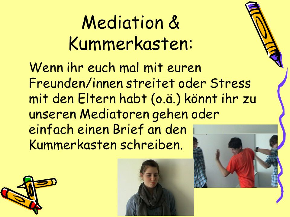 Mediation & Kummerkasten: