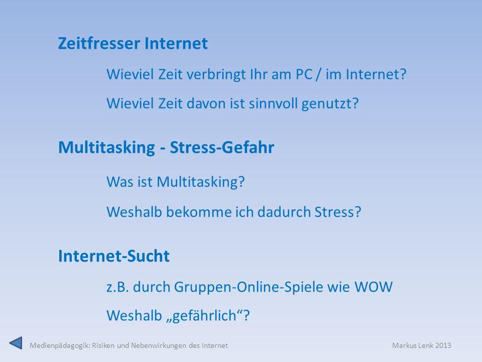 Multitasking - Stress-Gefahr Was ist Multitasking