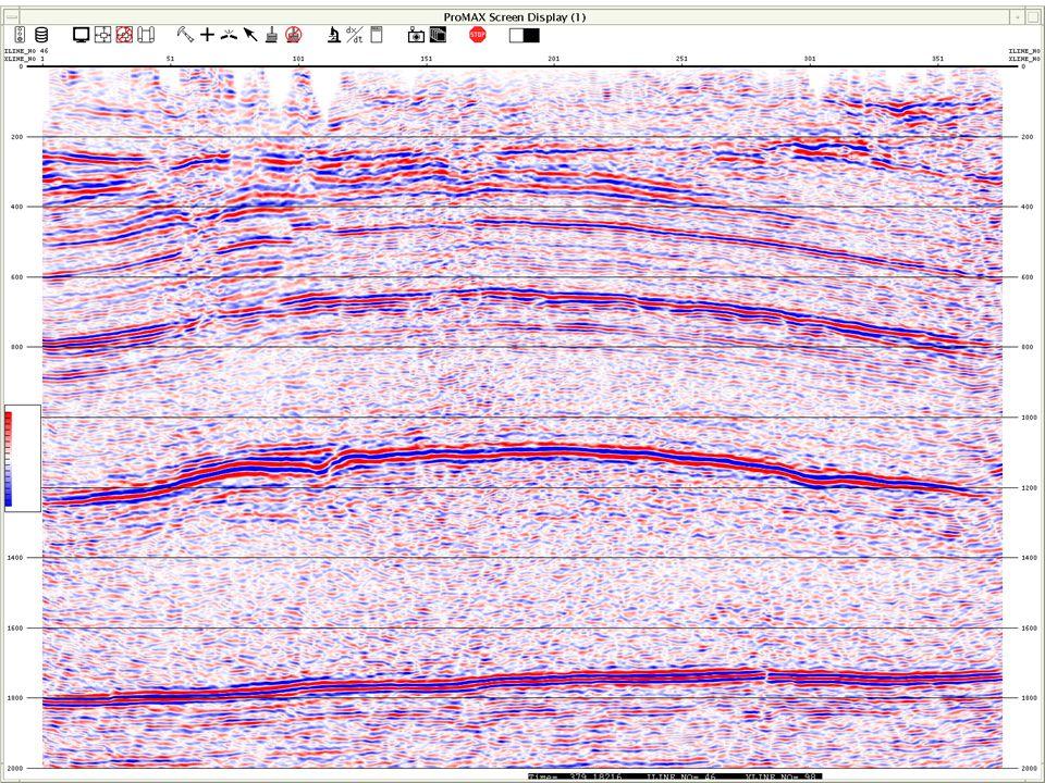 """Sogenannter """"Brutestack – Der Brutestack stellt die Rohdaten, die aus der seismischen Messug stammen, dar."""