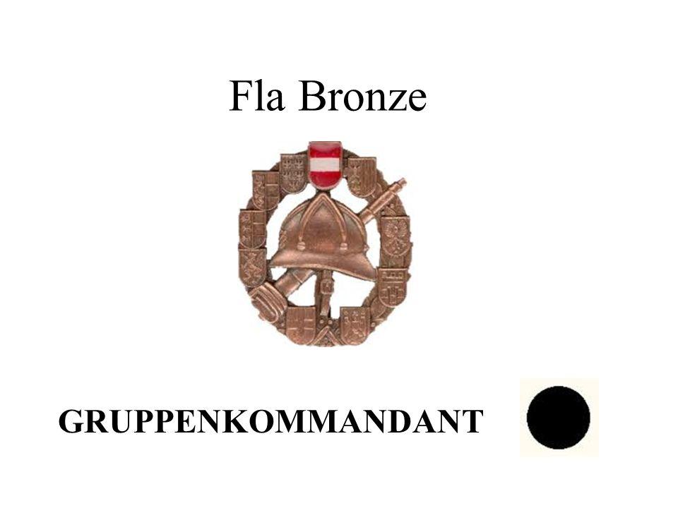 Fla Bronze GRUPPENKOMMANDANT