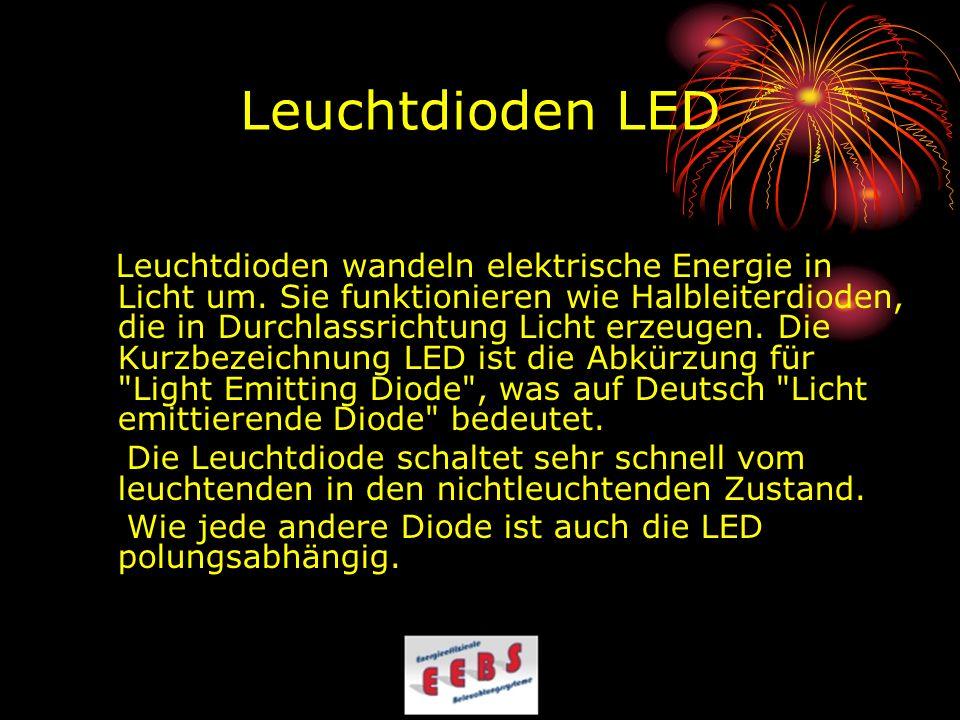 Leuchtdioden LED