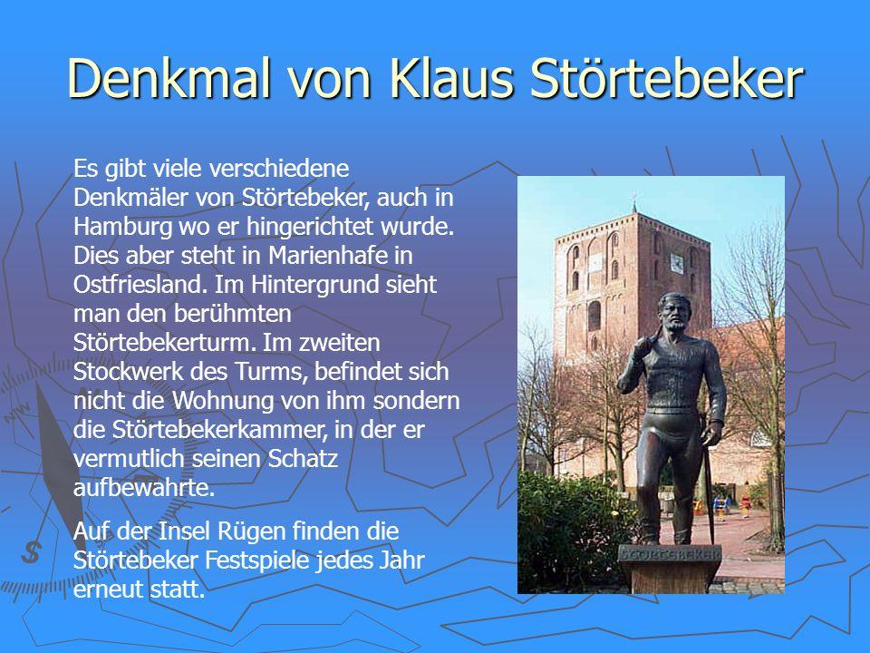 Denkmal von Klaus Störtebeker