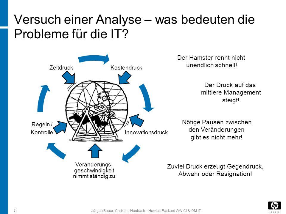 Versuch einer Analyse – was bedeuten die Probleme für die IT