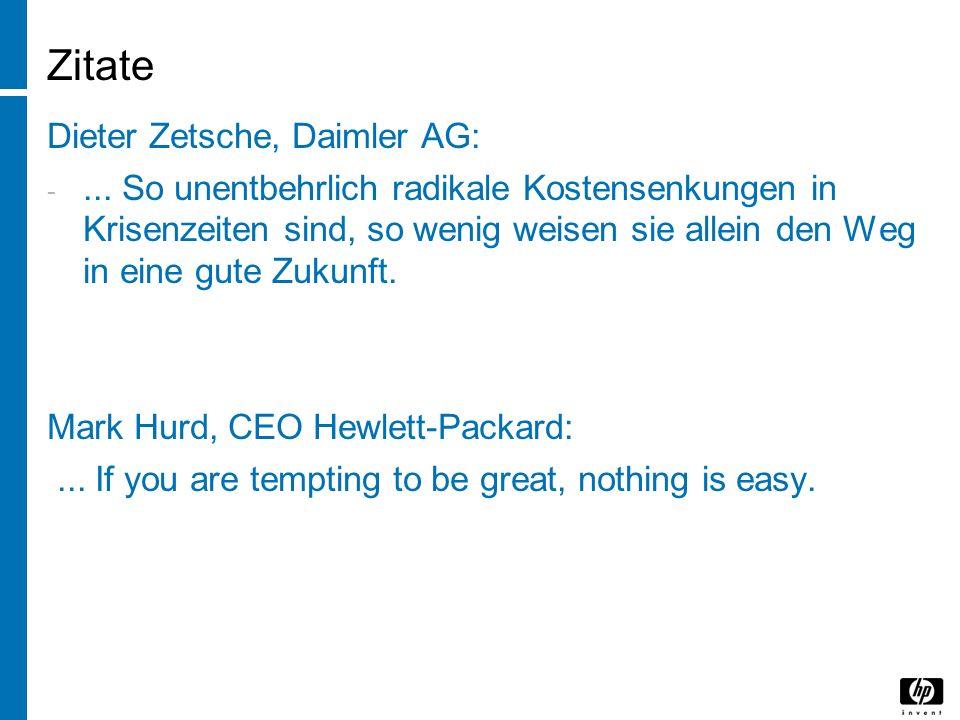 Zitate Dieter Zetsche, Daimler AG: