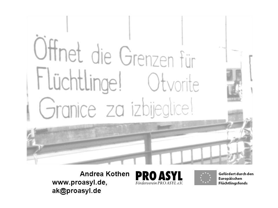 Andrea Kothen www.proasyl.de, ak@proasyl.de