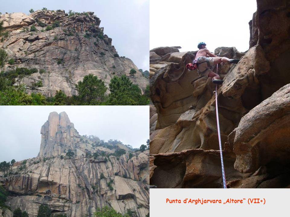 "Punta d'Arghjarvara ""Altore (VII+)"