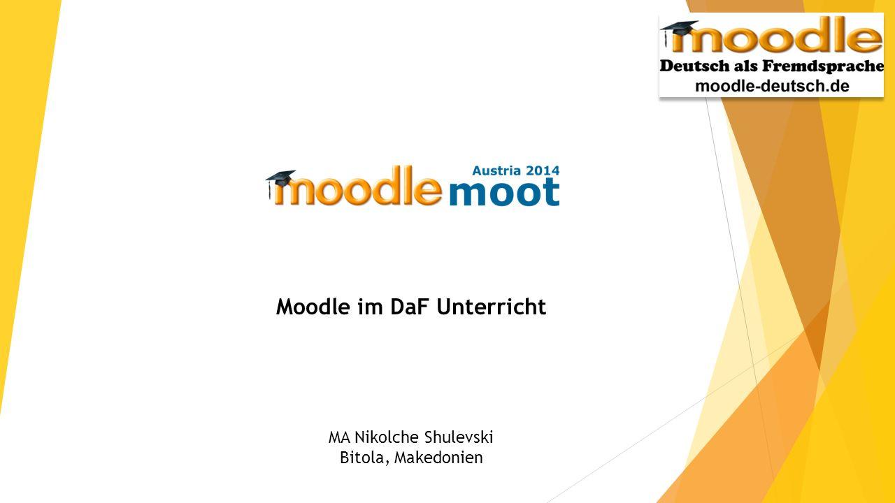 Moodle im DaF Unterricht