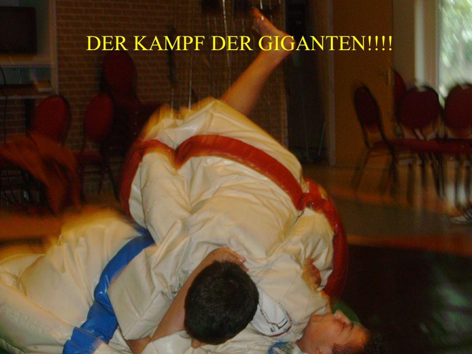 DER KAMPF DER GIGANTEN!!!!