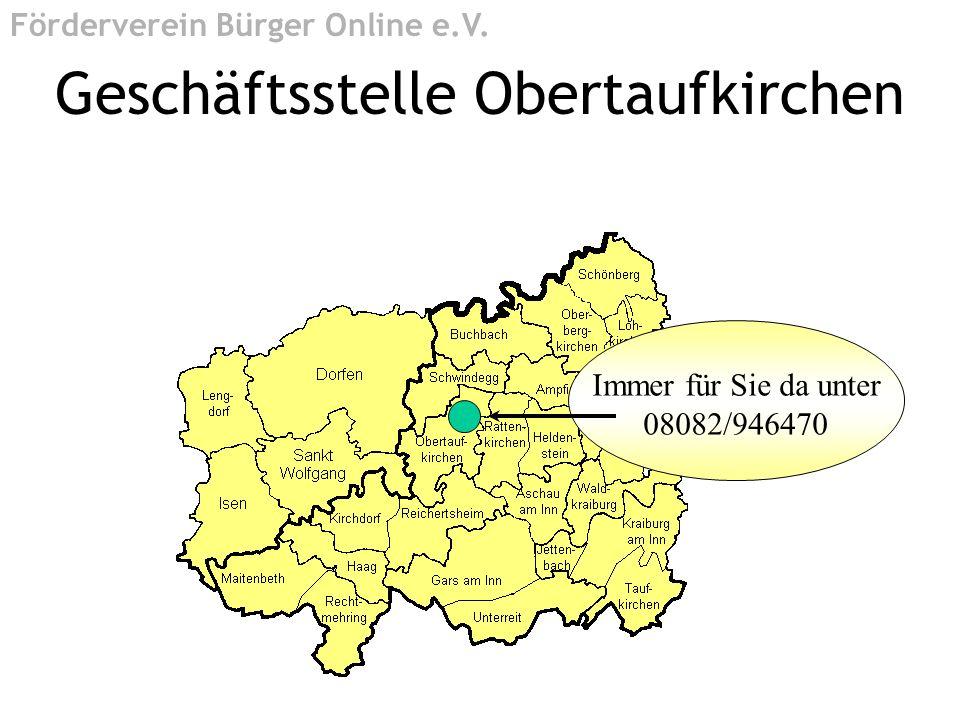 Geschäftsstelle Obertaufkirchen