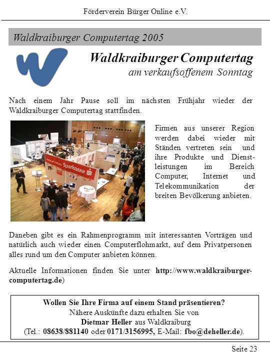 Waldkraiburger Computertag
