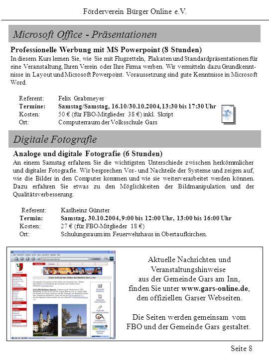 Microsoft Office - Präsentationen