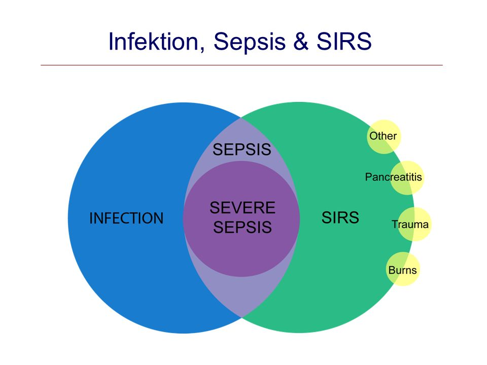 Infektion, Sepsis & SIRS