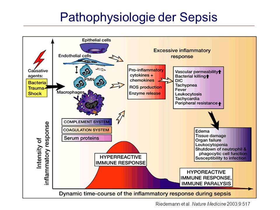 Pathophysiologie der Sepsis