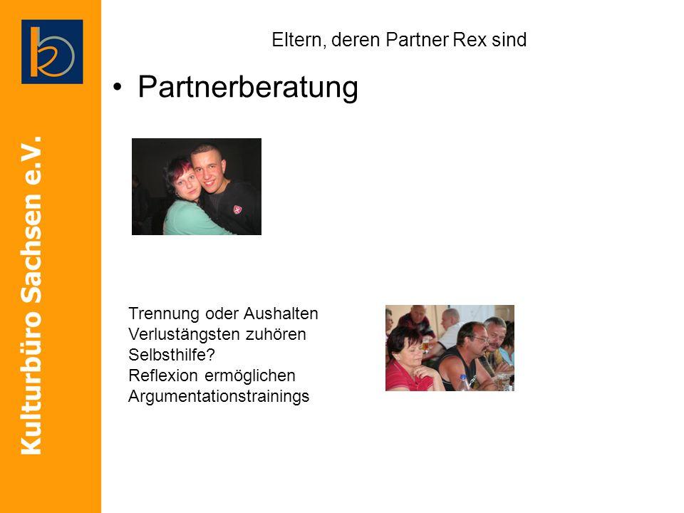 Eltern, deren Partner Rex sind