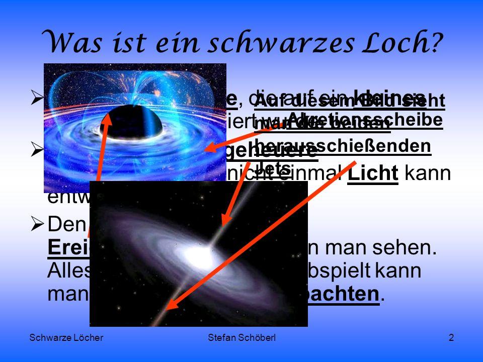 Was ist ein schwarzes Loch
