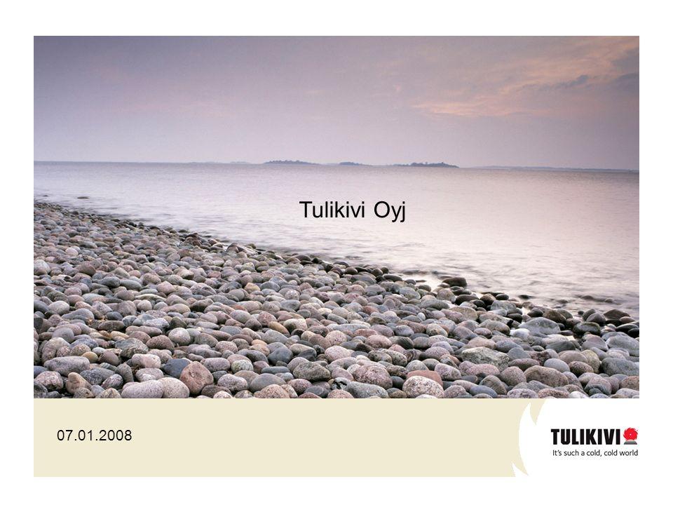 Tulikivi Oyj 07.01.2008