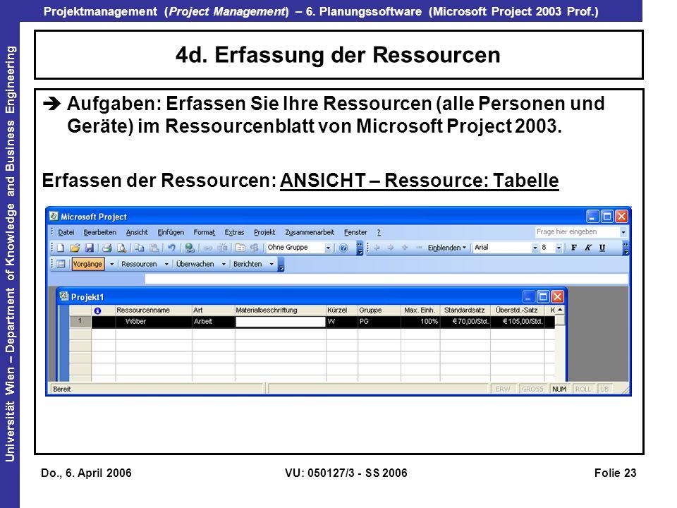 4d. Erfassung der Ressourcen