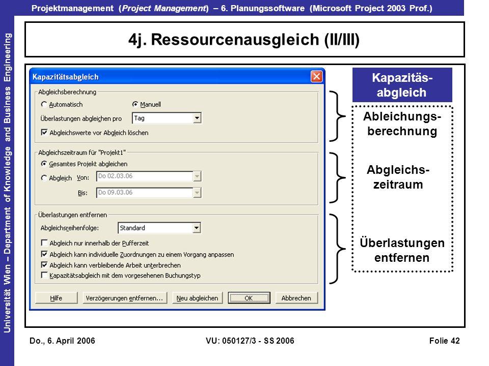 4j. Ressourcenausgleich (II/III)