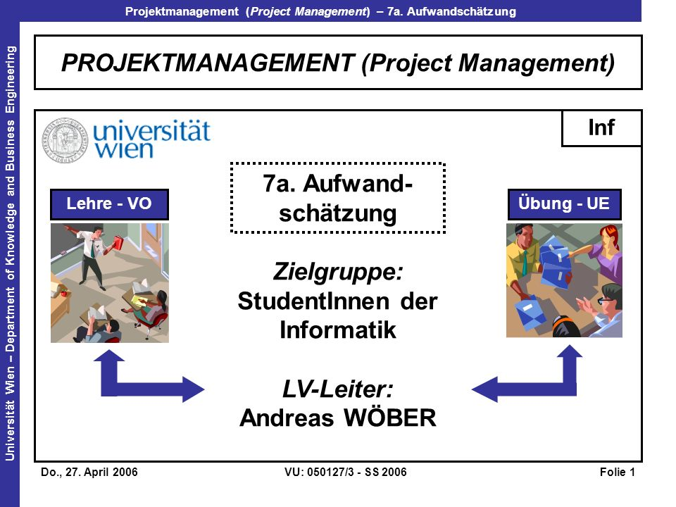 PROJEKTMANAGEMENT (Project Management)