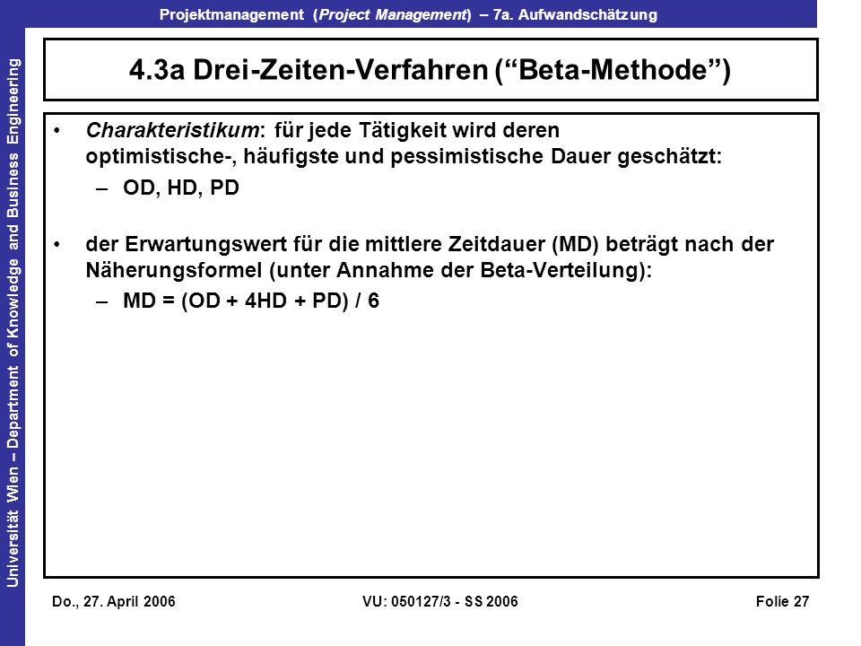 4.3a Drei-Zeiten-Verfahren ( Beta-Methode )