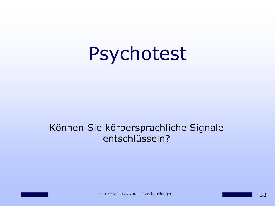 Psychotest Können Sie körpersprachliche Signale entschlüsseln
