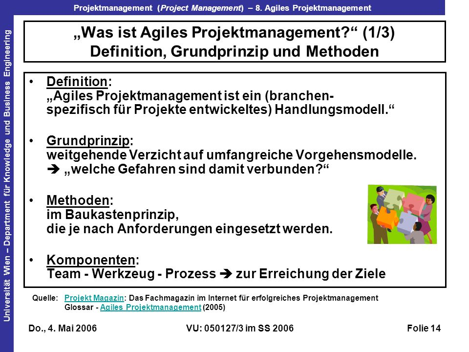 """Was ist Agiles Projektmanagement"