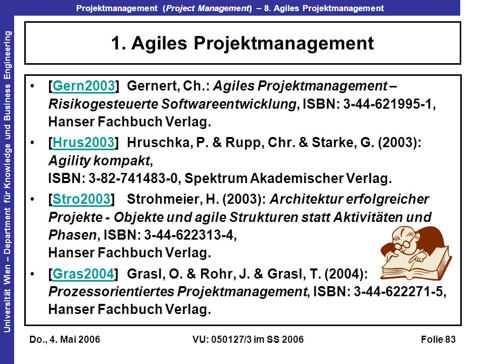 1. Agiles Projektmanagement