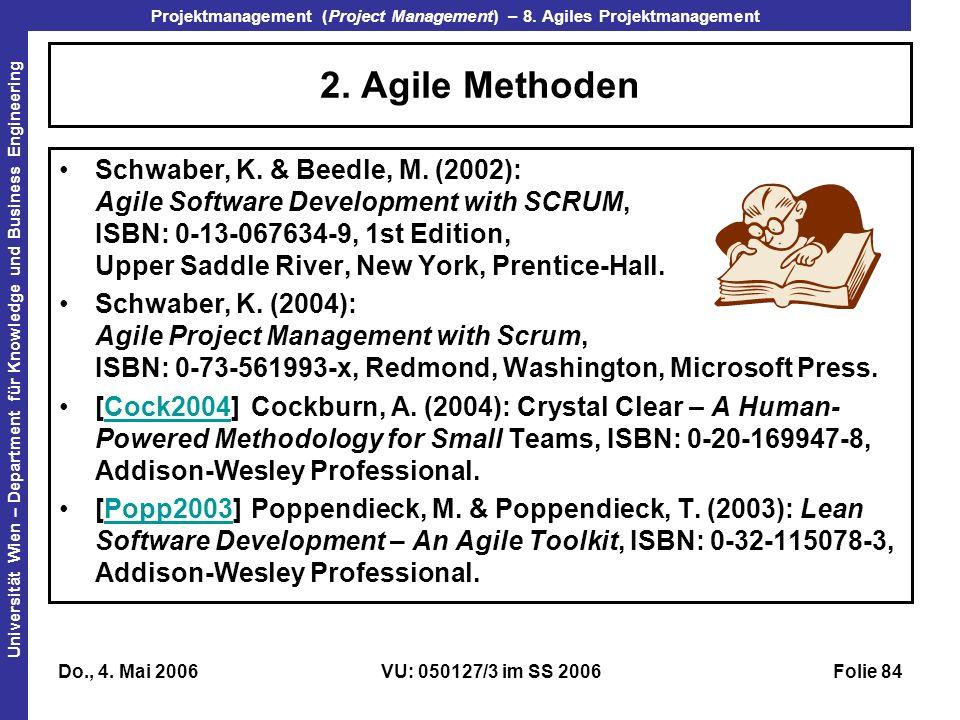 2. Agile Methoden
