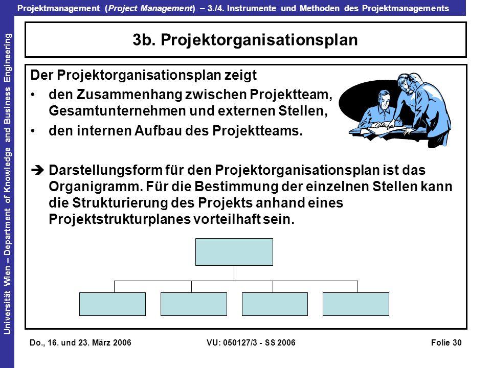 3b. Projektorganisationsplan